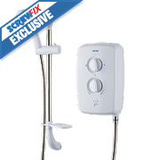Triton T70gsi Manual Electric Shower White 9.5kW